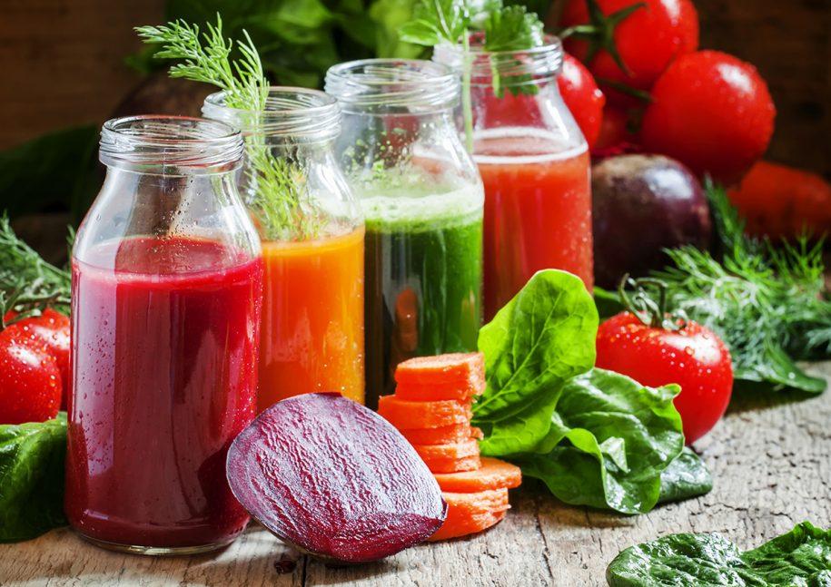 Fruit ane Vegetable Juice